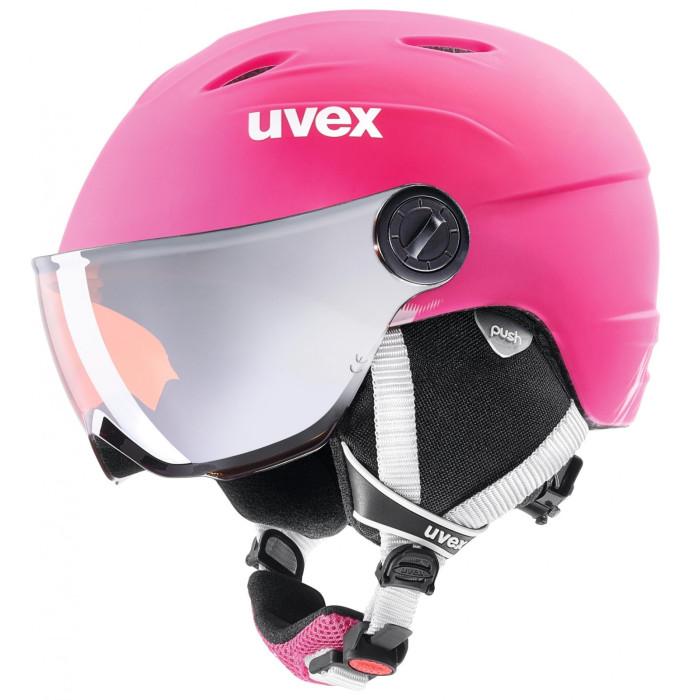 Uvex Jun Visor Pro Kids Skihelm