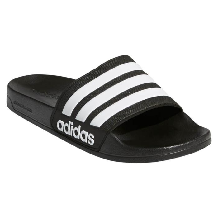 Adidas ADILETTE Shower Schwarz Weiss