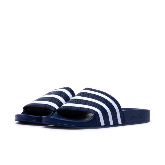 Adidas ADILETTE Blau/weiss