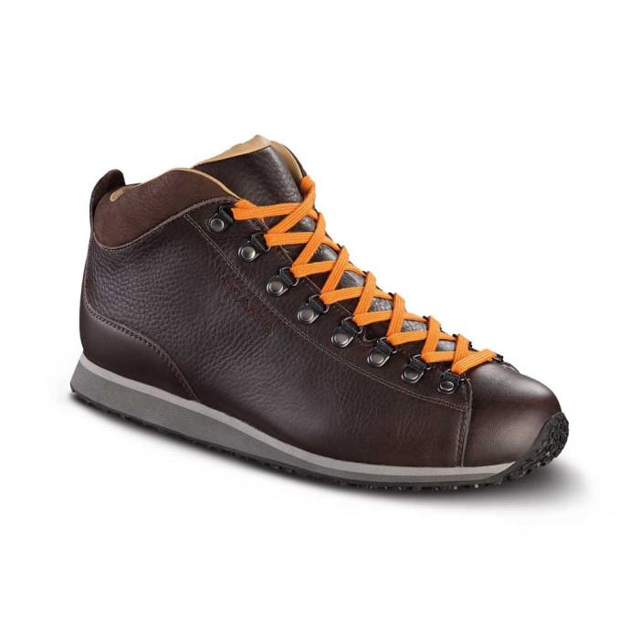 Scarpa Primitive Light Leather Braun Orange