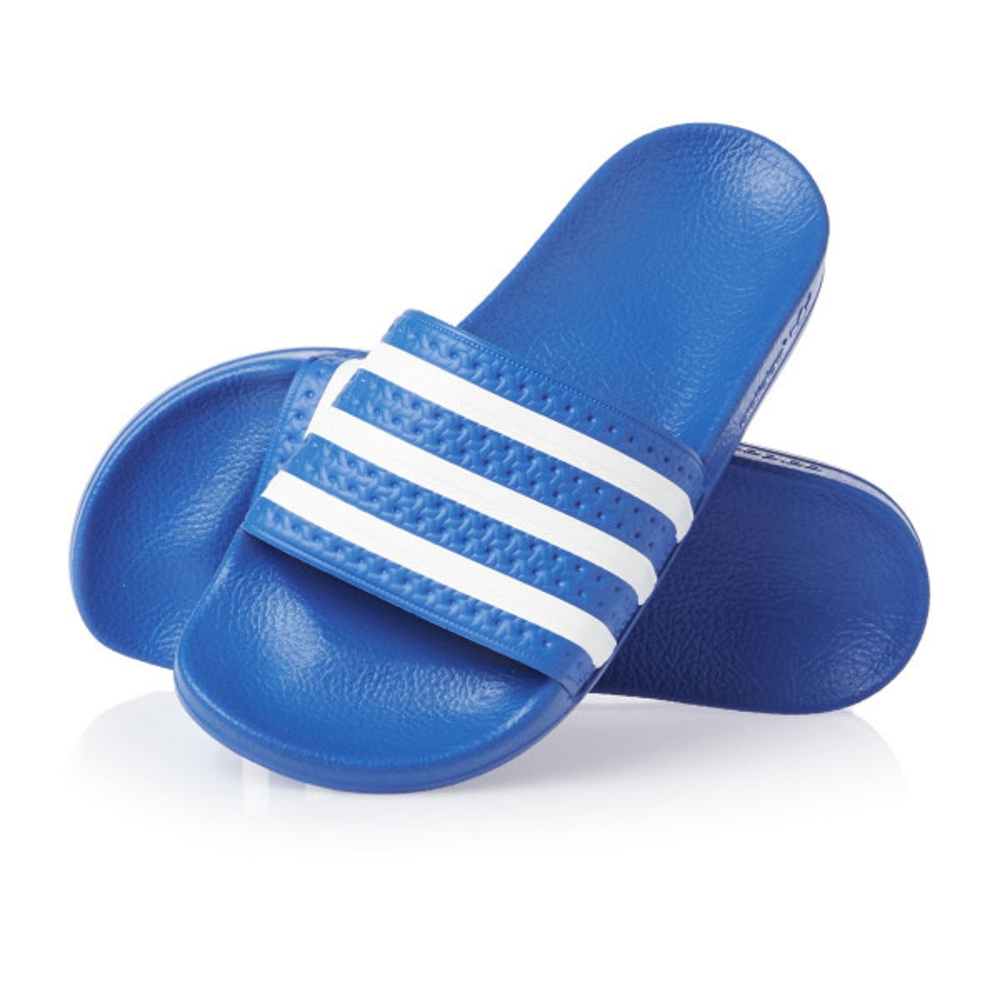 Adidas ADILETTE Blau Weiss
