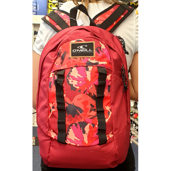 """O'Neill vBM ROunded Rucksack """"Rot/ Pink"""""""