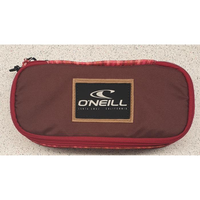 """O'Neill BM Box Pencilcase """"Dunkelrot/ Rot"""""""