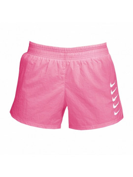 Nike Damen Swoosh Run Short, Pink
