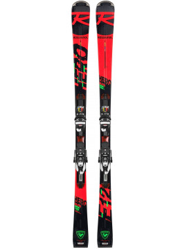 Rossignol Hero Elite ST IT Ski inklusiv Bindung NX 12 Konect GW B80 Swiss LTD